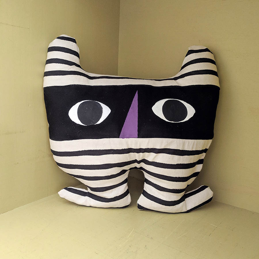 **011** This is Cranky. He hides in your blinds and peeps at you.